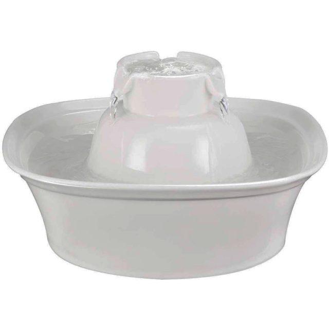Aurora Porcelain Ultra Quiet Dog Water Fountain
