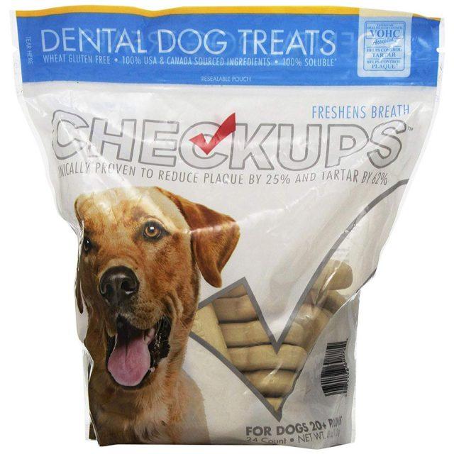 Checkups Freshen Breath Dental Dog Treats