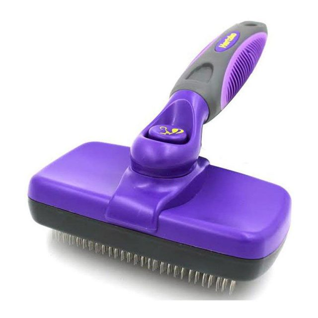 Hertzko Self Cleaning Slicker Dog Brush