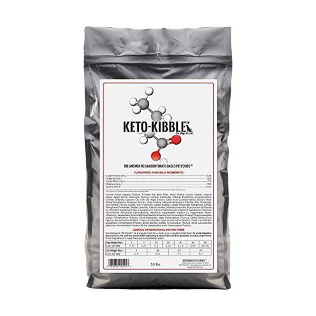 Ketogenic Pet Foods Keto-Kibble Starch Free Dog Food