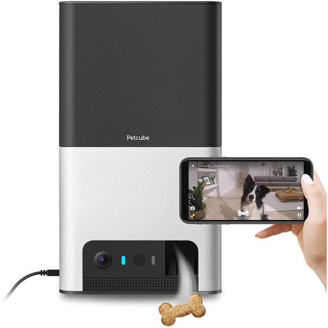 Petcube Bites 2 Wi-Fi Treat Dispenser Dog Camera